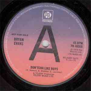 Bryan Evans  - Don'tcha Like Boys album
