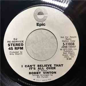 Bobby Vinton - I Can't Believe That It's All Over / Where Are The Children album
