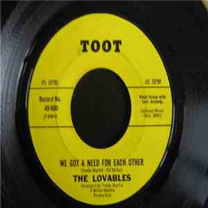 The Lovables - You Can't Dress Up A Broken Heart / We Got A Need For Each Other album