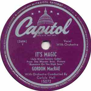 Gordon MacRae - It's Magic / Spring In December album