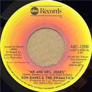 Ron Banks And The Dramatics - Me And Mrs. Jones / I Cried All The Way Home album