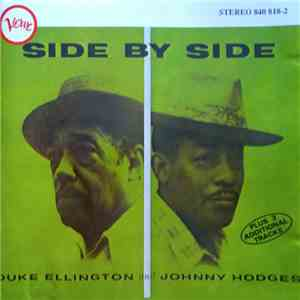 Duke Ellington And Johnny Hodges - Side By Side album