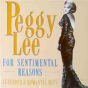 Peggy Lee - For Sentimental Reasons album