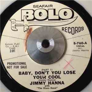 Jimmy Hanna - Baby, Don't Lose Your Cool album