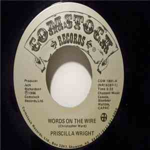 Priscilla Wright - Words On The Wire album