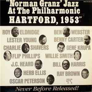 Various - Norman Granz' Jazz At The Philharmonic Hartford, 1953 album