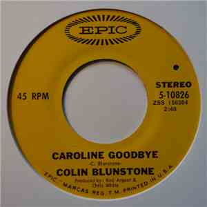 Colin Blunstone - Caroline Goodbye album