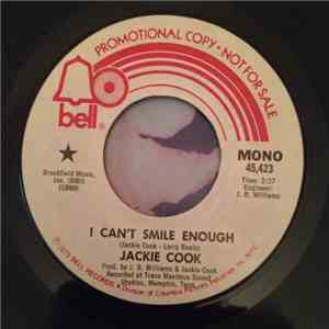 Jackie Cook - I Can't Smile Enough album