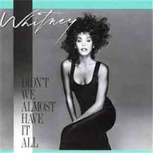 Whitney Houston - Didn't Almost Have It All album